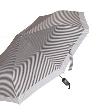 10319Q67b Otomatik Şemsiye Kahverengi Çizgili Bbr18080180705 Biggbrella