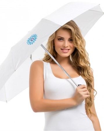 Nazarlık Beyaz Şemsiye Bgd02046180301 Biggdesign