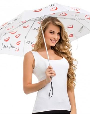 Her Dilden Beyaz Mini Şemsiye Bgd26080180101 Biggdesign