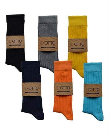 Mix 6lı Çorap DB6P003