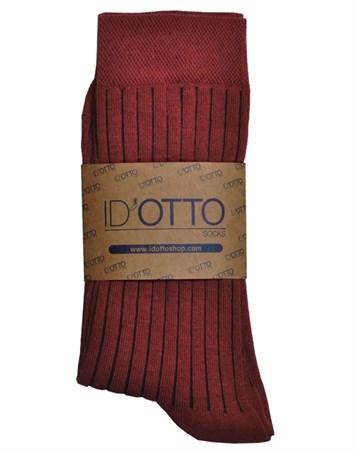 Bordo Organik Çorap DK005