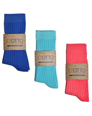 Id'Otto Mix 3lü Organik Çorap DK3P006