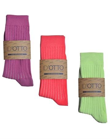 Id'Otto Mix 3lü Organik Çorap DK3P008