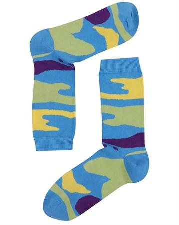 Mix Desenli Çorap 717K
