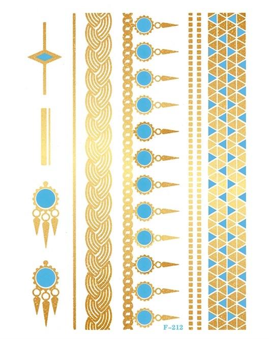 Solesummer Geçici Dövme K055