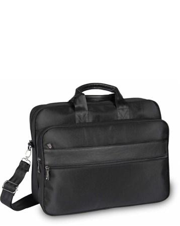 Alone Siyah Laptop Bölmeli Evrak Çantası Alone Bag