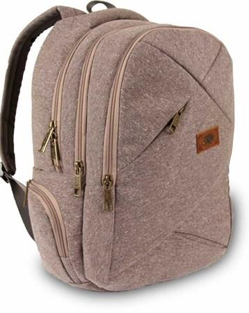 Alone Kahverengi 15.6 Laptop Bölmeli Sırt Çantası Alone Bag