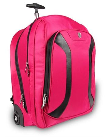 Alone Fuşya Tekerlekli Laptop Bölmeli Sırt Çantası Alone Bag