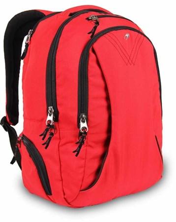 Alone Kırmızı Tablet Ve Laptop Bölmeli Sırt Çantası Alone Bag