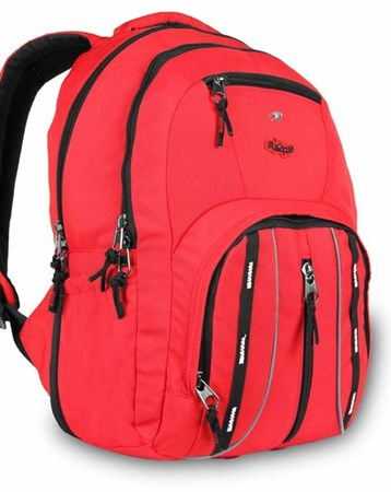 Alone Kırmızı 15.6 Laptop Bölmeli Sırt Çantası Alone Bag