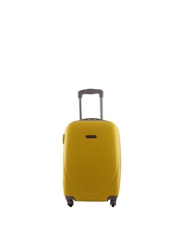 2022-0 Pvc Sarı Küçük Boy Valiz Bavul 2 Laguna