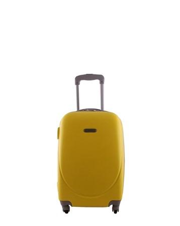2022-1 Pvc Sarı Orta Boy Valiz Bavul 2 Laguna
