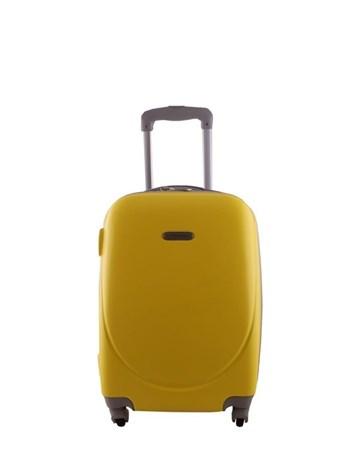 2022-2 Pvc Sarı Büyük Boy Valiz Bavul 2 Laguna