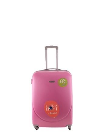 2022-1 Pvc Pembe Orta Boy Valiz Bavul 2 Laguna