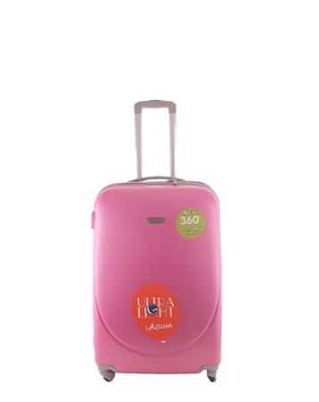 2022-2 Pvc Pembe Büyük Boy Valiz Bavul 2 Laguna