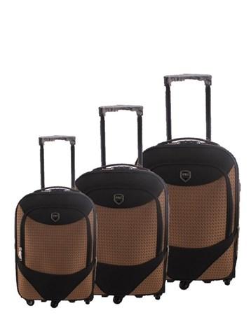 055 Kahve Valiz Bavul Seti 2 ÇÇS