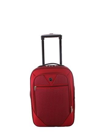 088 Bordo Bavul Büyük Kumaş Valiz 2 ÇÇS
