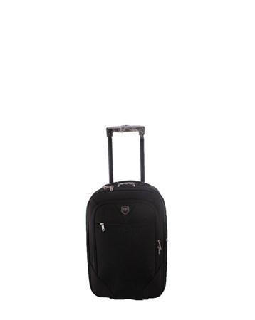 088 Siyah Bavul Küçük Kumaş Valiz 2 ÇÇS