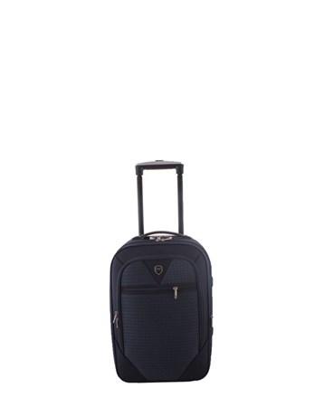 088 Lacivert Bavul Küçük Kumaş Valiz 2 ÇÇS