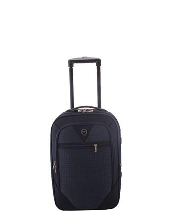 088 Lacivert Bavul Büyük Kumaş Valiz 2 ÇÇS