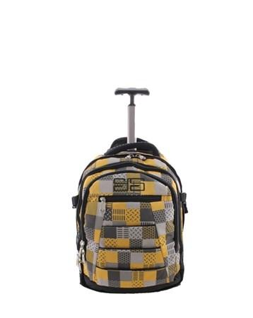 40143 Büyük Sarı Çekçekli Seyahat Çantası 2 ÇÇS