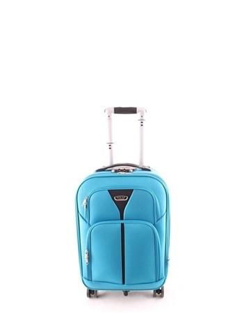 098 Kabin Boy Kumaş Valiz Mavi 2 ÇÇS