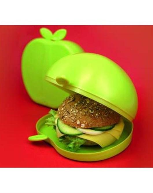 Koziol 3082568 Boskop Sandwich Yemek Kabı Yeşil Koz3082568