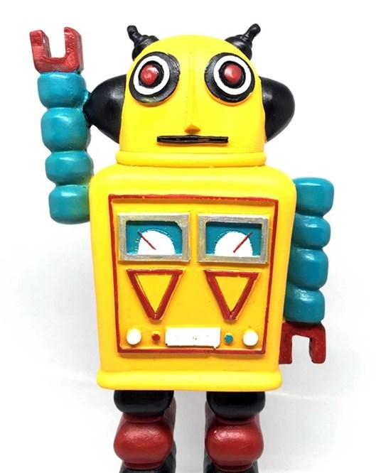 Decotown Nostaljik Uzaylı Robot Biblo Ob2484dk1016