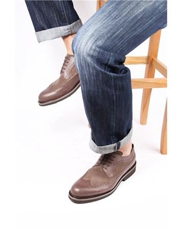 Enrico Lorenzi Erkek Ayakkabı 06293 Kahveye Kahve Süet GÖN