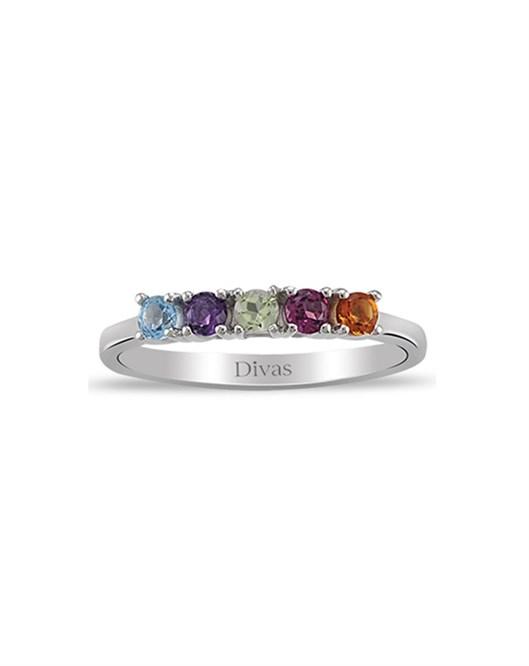 Divas Diamond Renkli Pırlanta Yüzük