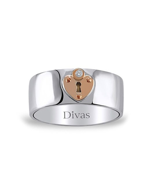 Divas Diamond Pırlantalı Kilit Yüzük