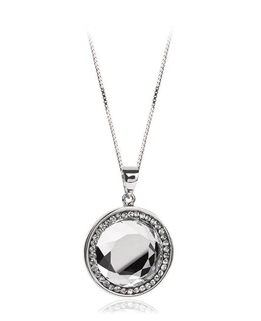 Larentia Aynalı Gümüş Kolye