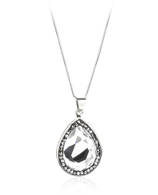 Larentia Aynalı Damla Gümüş Kolye