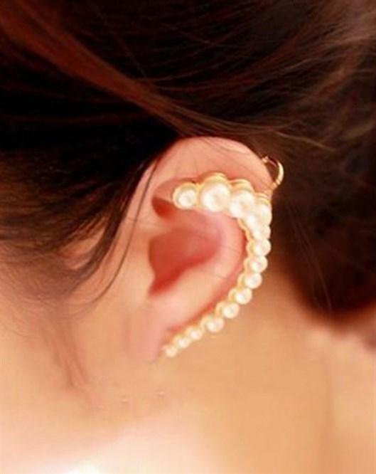 İncili Ear Cuff E75