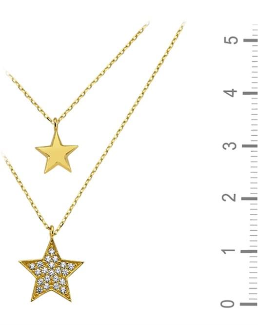 Altın Yıldız Kolye DTR30020