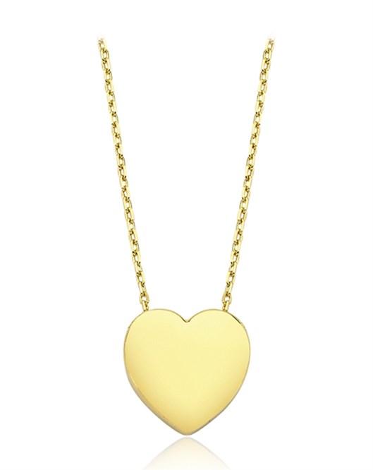 Altın Kalp Kolye DTR30230