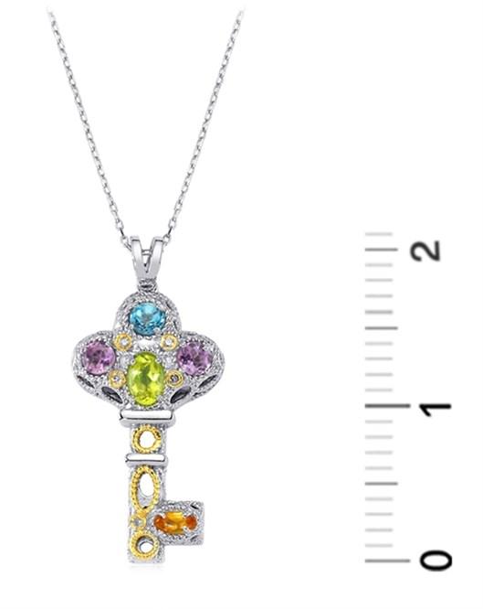Diva Gümüş Kolye F020682