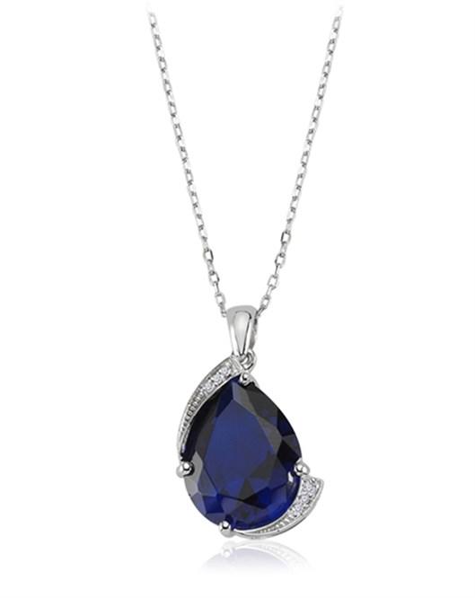 Diva Gümüş Kolye F020702