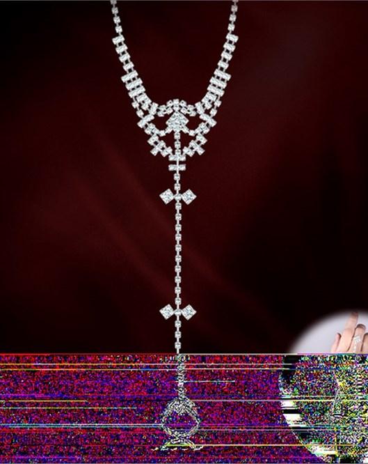 El Yapımı Kristal Taşlı Abiye Bileklik Moda 2017 Gelinlik Takıları 383