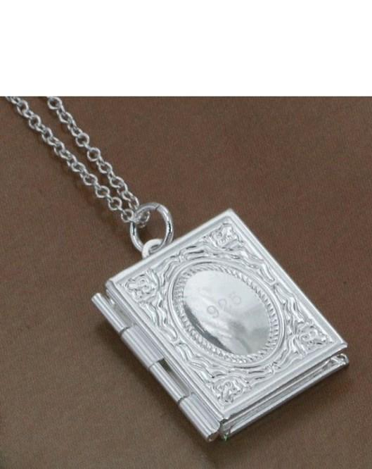Yeni Marka Tasarım Fotograf Kolye Gümüş Kaplama Accessories Takı Kolye 469