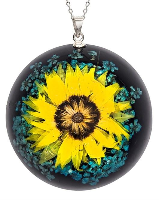 Çiçekli Kolye 1011101