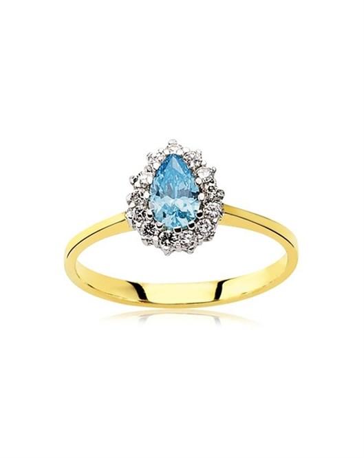 Glorria Jewellery Yüzük 6X4-dml-yzk