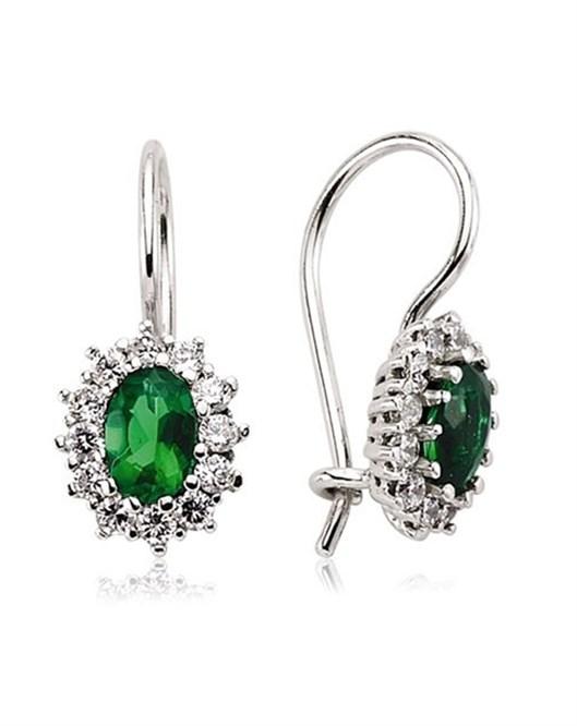 Glorria Jewellery Küpe 6X4-ovl-kp