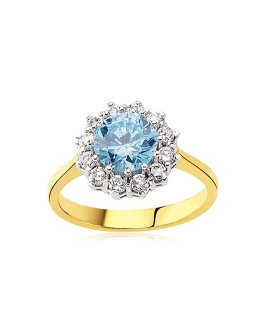 Glorria Jewellery Yüzük 7MM-yvr-yzk