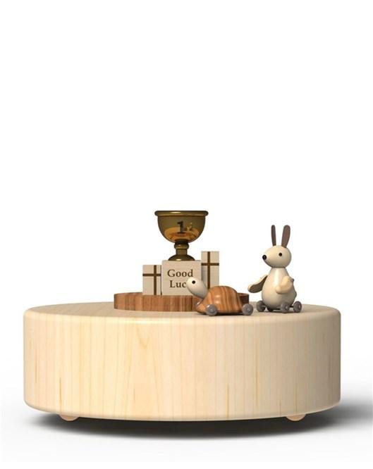 Wooderful Life Müzik Kutusu Tavşan Ve Kaplumbağa  1033205