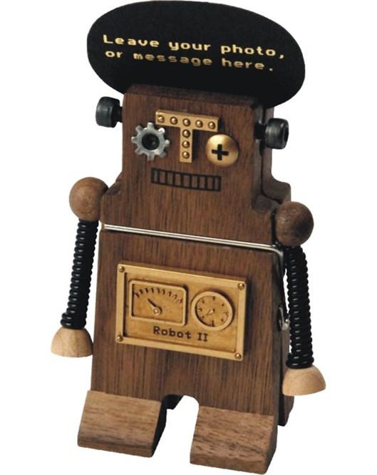1013402-Mandal Not Tutucu _Robot (Kahve)