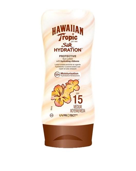 Hawaiian Tropic Silk Spf 15 Güneş Koruyucu Nemlendirici Losyon
