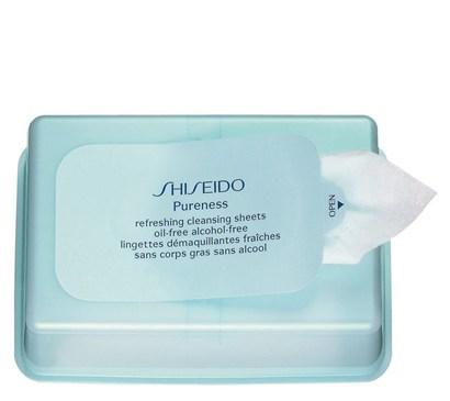Shiseido Pureness Refreshing Cleansing Sheets 30 Sheets Yüz Temizleyici