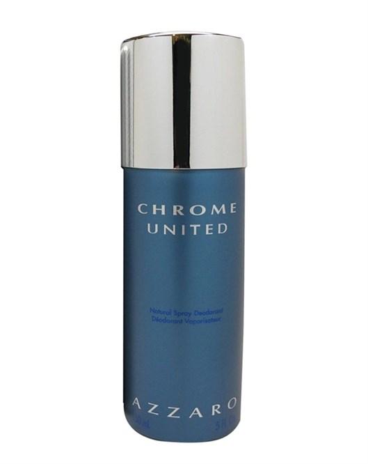 Azzaro Chrome United 150Ml Erkek Deodorant