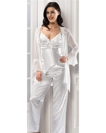 3210 Pijama Sabahlık Takım Stl-Nbb3210 Nbb